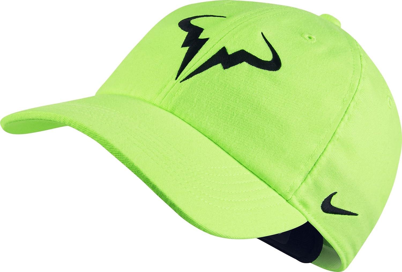 Nike Rafa Nadal U Nk Arobill H86 Gorra, Hombre, Verde (Ghost Green ...