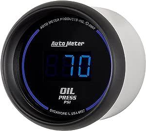 "Auto Meter 6927 Cobalt Digital 2-1/16"" 0-100 PSI Oil Pressure Gauge"