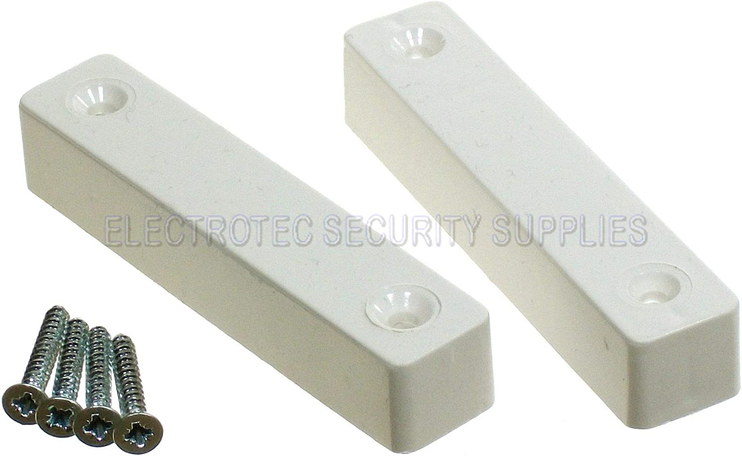 Windows Burglar Alarm Contact 5 Screw Single Reed Flush Door