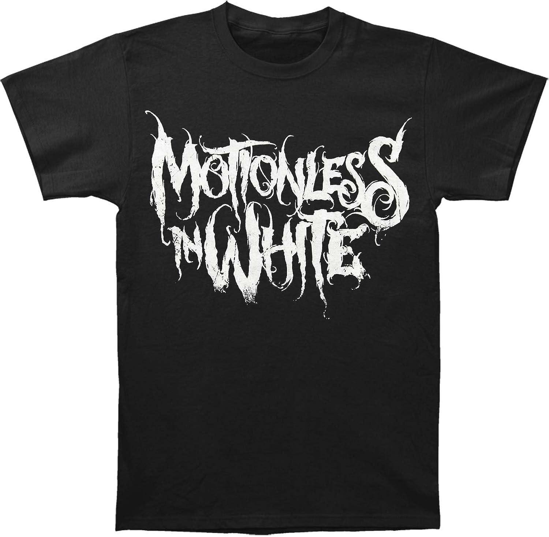 """MOTIONLESS IN WHITE /""""MIW/"""" LOGO MEN/'S HEAVY T-SHIRT."""