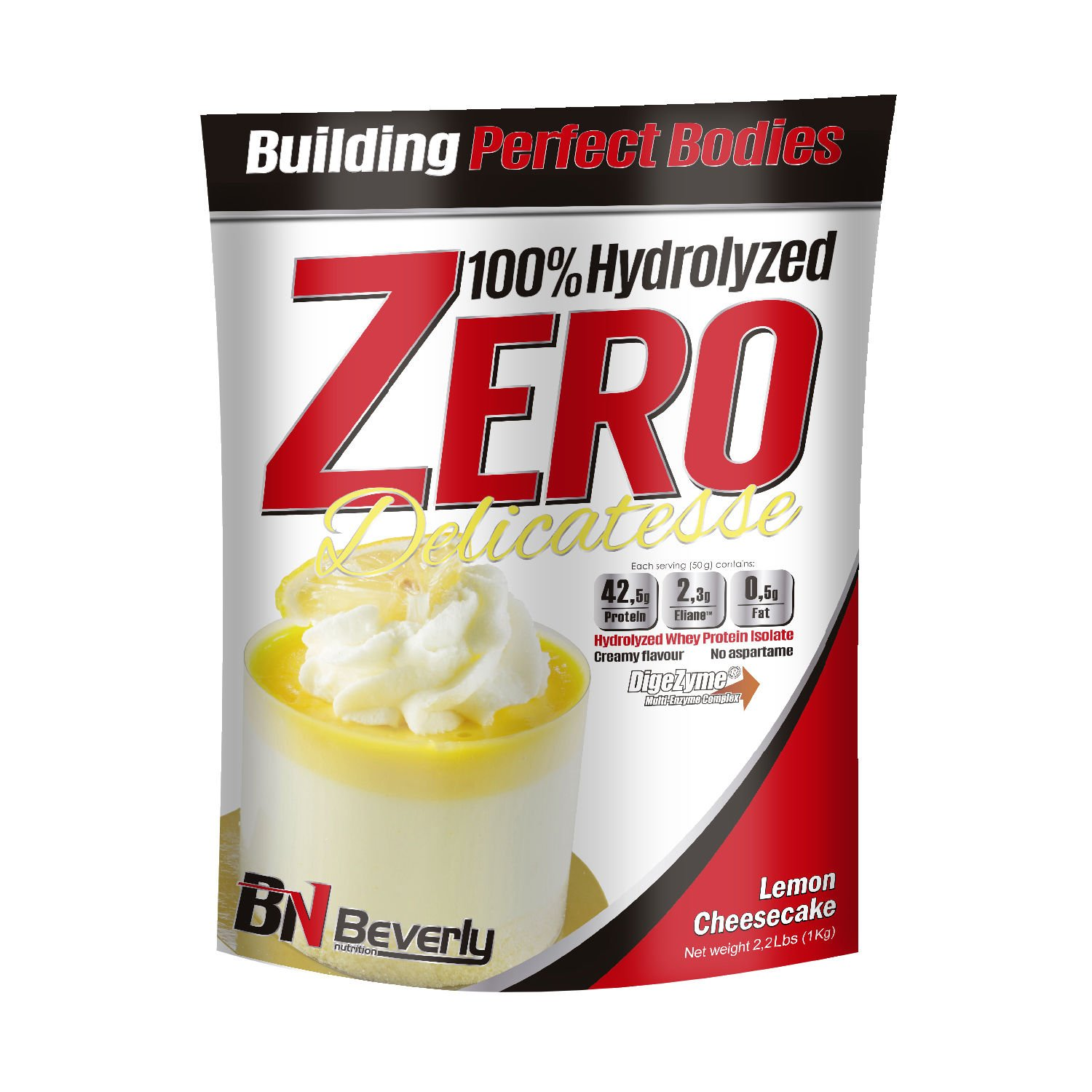 Beverly Nutrition For Absat40 Hydrolysed Whey Hydrolysed Lemon Cheesecake Anabolic Protein Professional Muscle Growth Mass Gainer 1kg