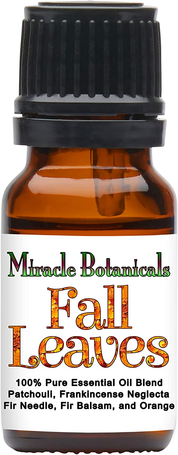 Miracle Botanicals Fall Leaves Essential Oil Blend - 100% Pure Essential Oils - Therapeutic Grade - 10ml
