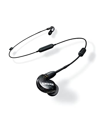 92ba38dee7f Shure SE215-K-BT1-EFS Bluetooth Enabled Sound Isolating: Amazon.co.uk:  Electronics