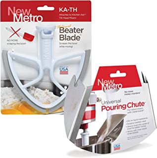 product image for Original Beater Blade for 4.5 & 5 quart Tilt Head Stand Mixer and Universal Pour Chute Set, , Made in USA