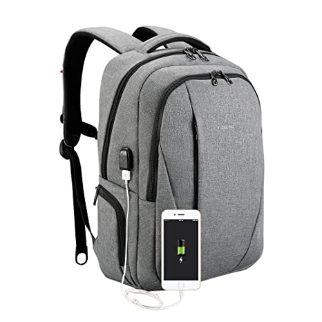 cff1ca8a73 Image Unavailable. Image not available for. Color  Tigernu Slim Business  Laptop Backpack ...