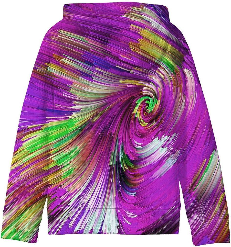 SAYM Big Girls Galaxy Fleece Pockets Sweatshirts Jacket Pullover Hoodies
