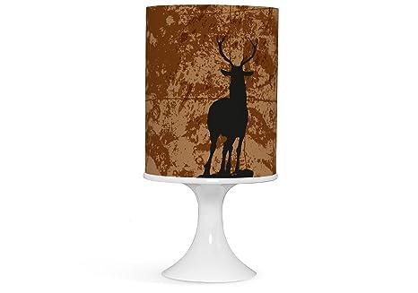 Lampe Hirsch Reh Wild Tla028 Amazon De Beleuchtung