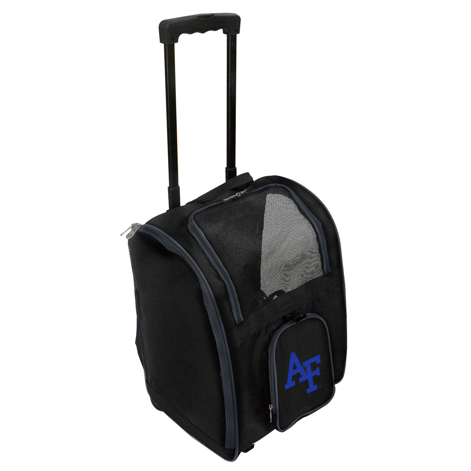 Denco NCAA Air Force Falcons Premium Wheeled Pet Carrier