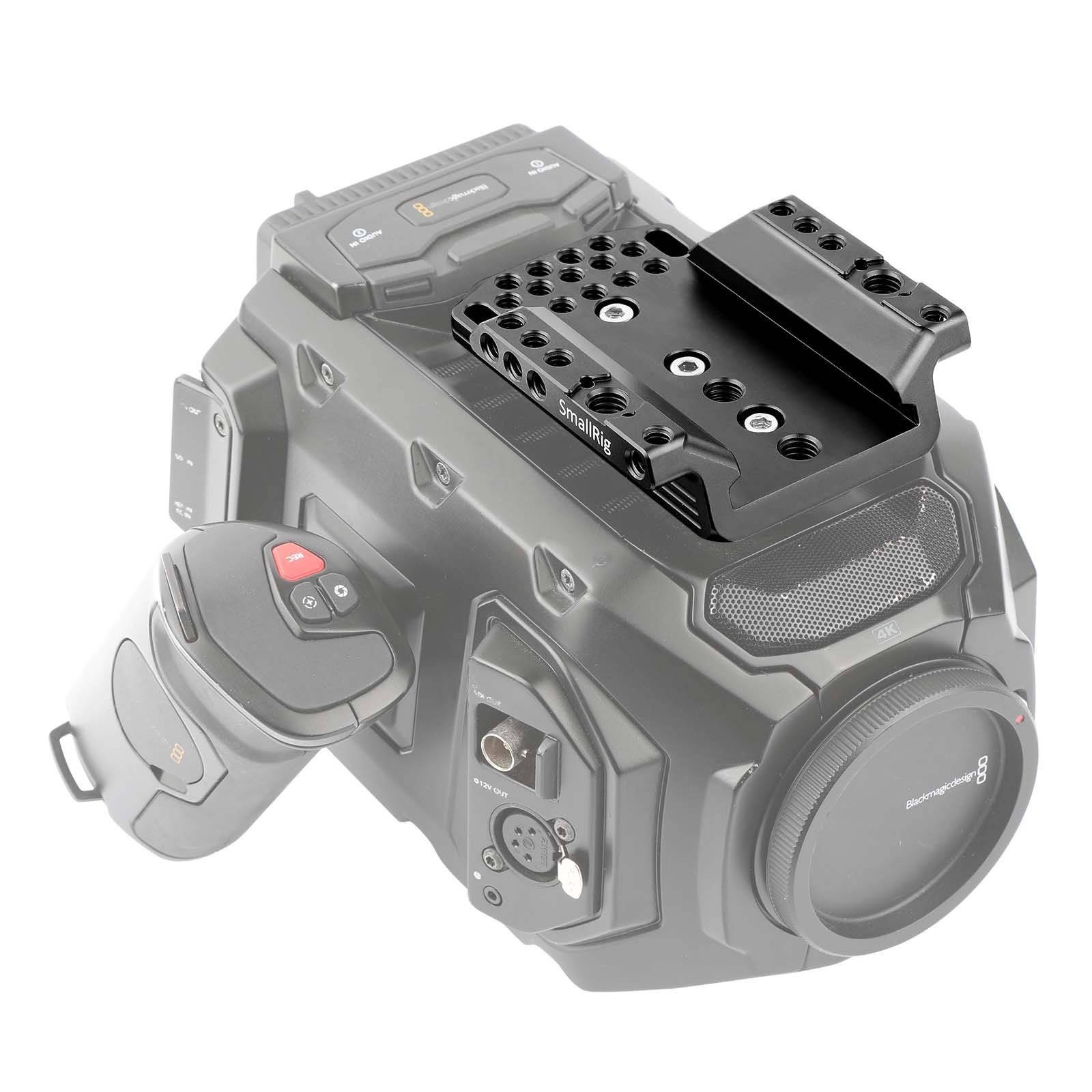 """SMALLRIG Top Plate Cheese Plate for Blackmagic URSA Mini/Mini Pro Original EVF Viewfinder with 1/4"""" 3/8"""" Thread Locating Holes - 1958 by SMALLRIG (Image #5)"""