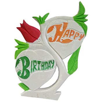 Buy Salvus App SOLUTIONS Unique Birthday Gifts Marble Handmade Happy Name Art Surprise Online At Low Prices In India