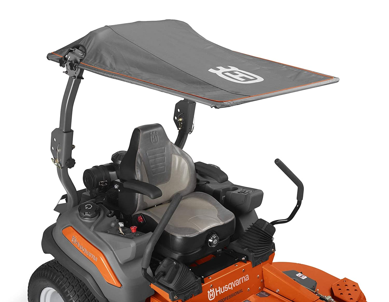 Husqvarna Zero Turn Sun Canopy Riding Mower Accessories, Orange Gray