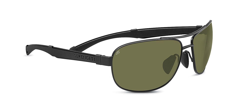 Serengeti Eyewear Sonnenbrille Norcia, Satin Black/Black, L, 7971