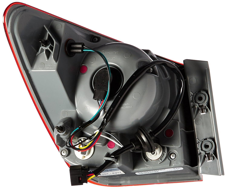 Amazon.com: TYC 11-6358-00-1 Chevrolet Cruze Replacement Tail Lamp:  Automotive