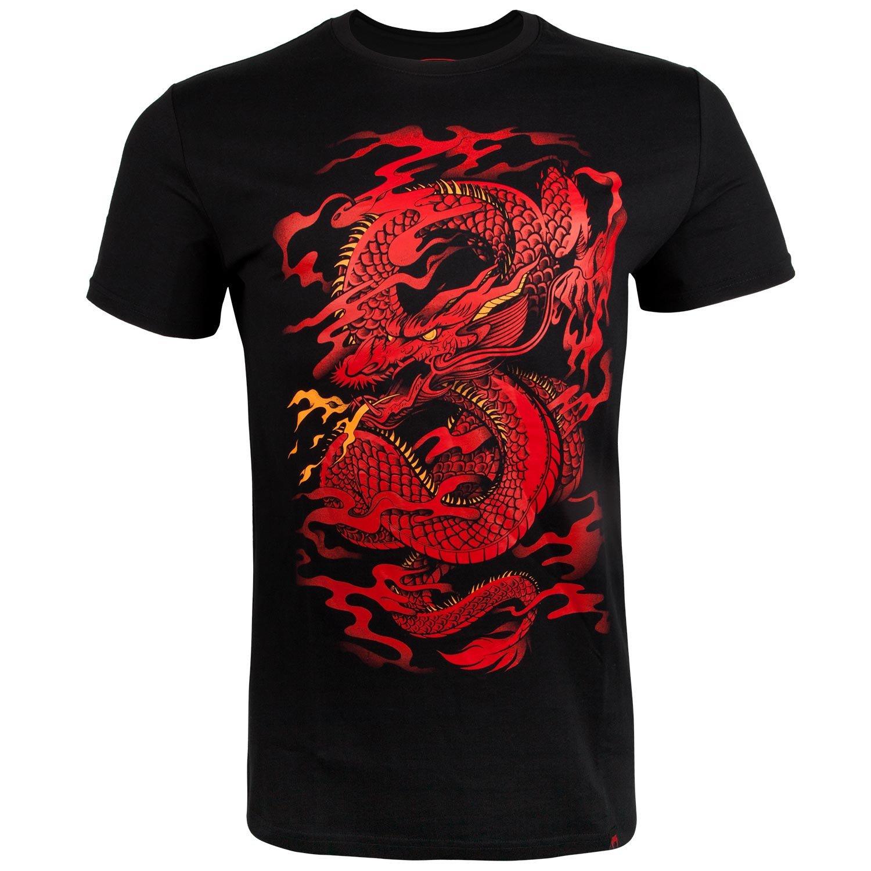 Camiseta con dragón rojo