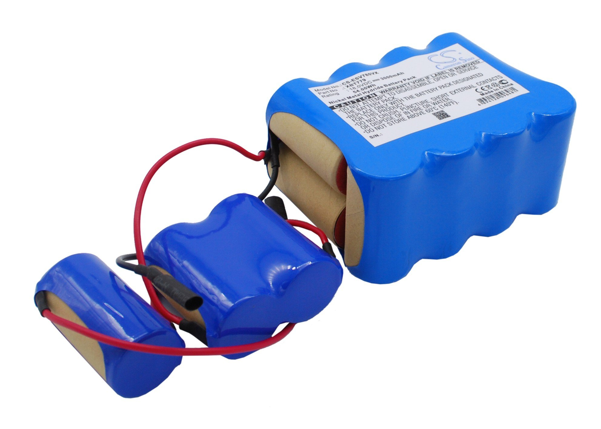 GAXI Battery Replacement for Euro Pro CEN 540 Comapatible with Euro Pro CEN540 CEN546, CEN550 CEN640 CEN646, CR120, CR130, Vacuum Cleaner Battery by GAXI