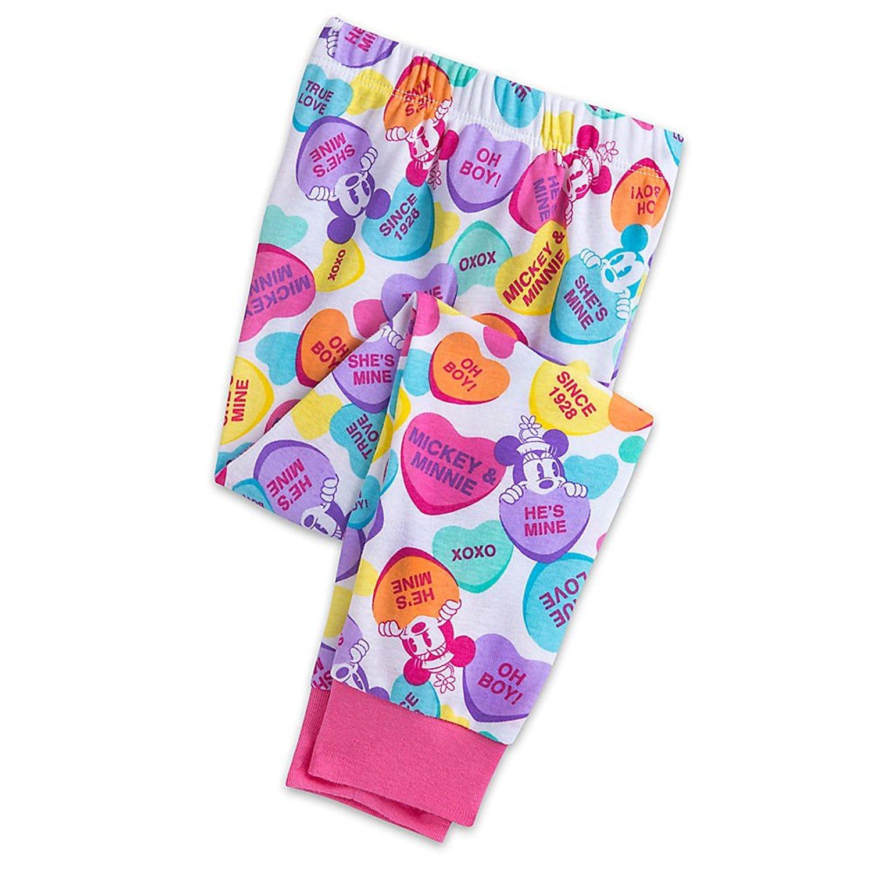 Amores de Mickey y Minnie Mouse Pijamas de PJ PALS para ni?as Tama?o 4: Amazon.es: Ropa y accesorios
