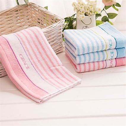 AiVS-suave toalla de algodón, algodón hidrófilo para modelos delgadas pareja pequeña toalla (