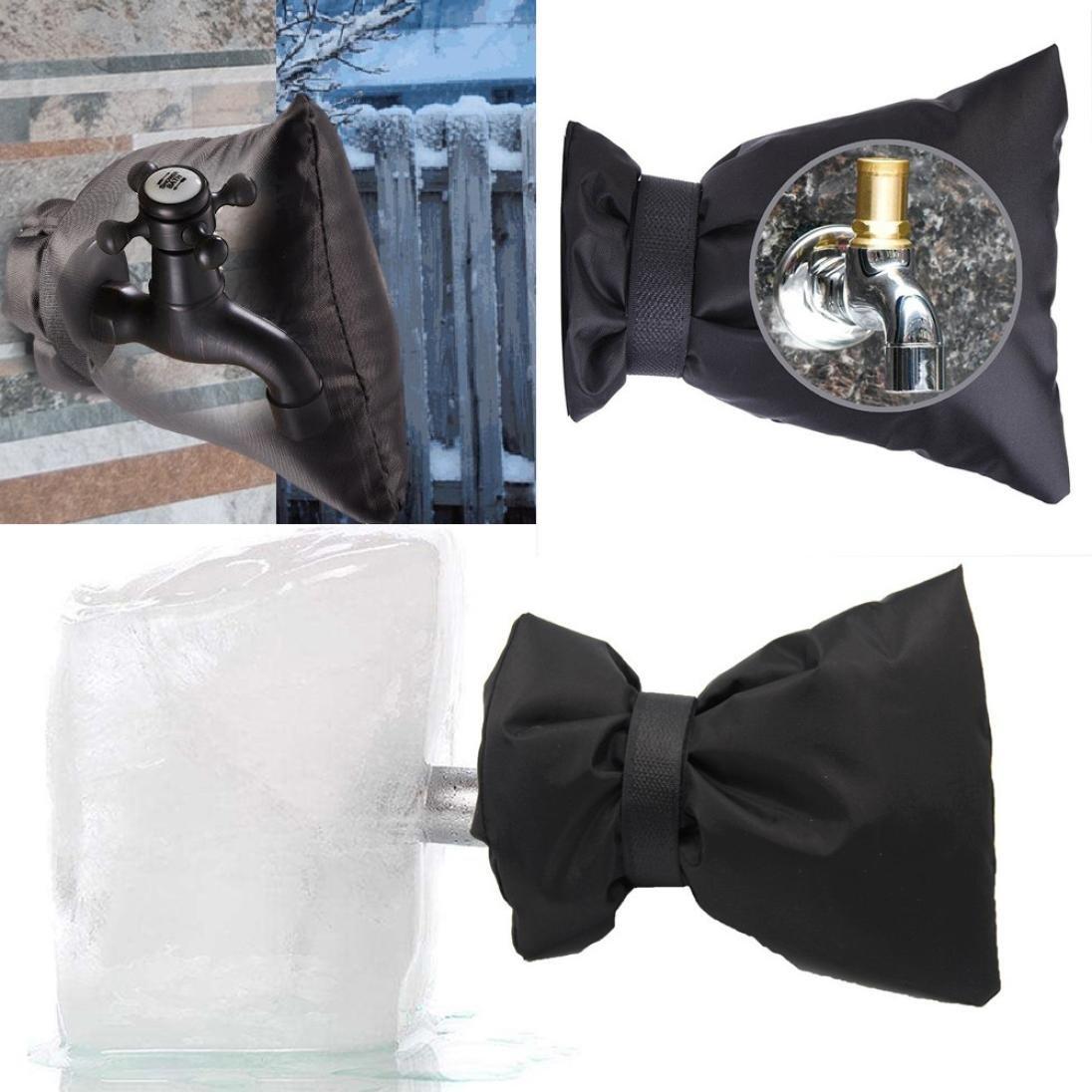 Iuhan Faucet Cover, 2Pcs Faucet Cover Faucet Freeze Protection For Faucet Outdoor Faucet Socks (2Pcs)