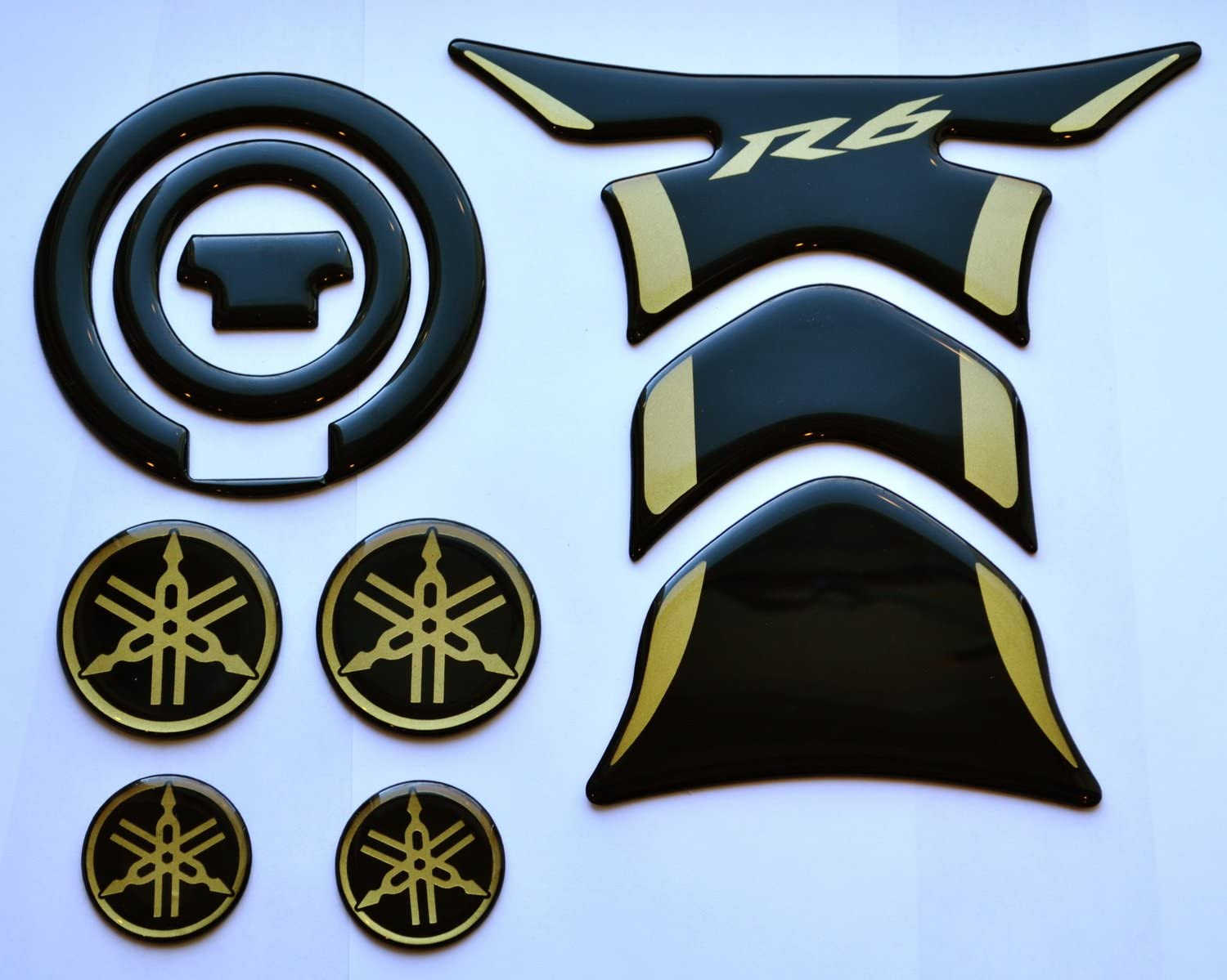 2 x YAMAHA Soft Font Decals Stickers for wheels,panels,tank,fairing