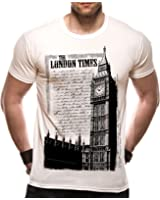 Loud Distribution London Times Logo Men's T-Shirt