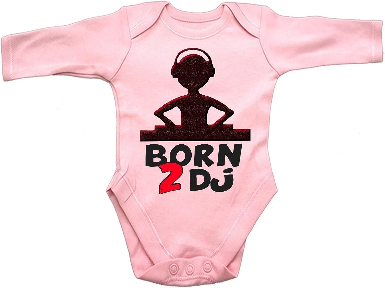123t Born 2 DJ Design Babygrow