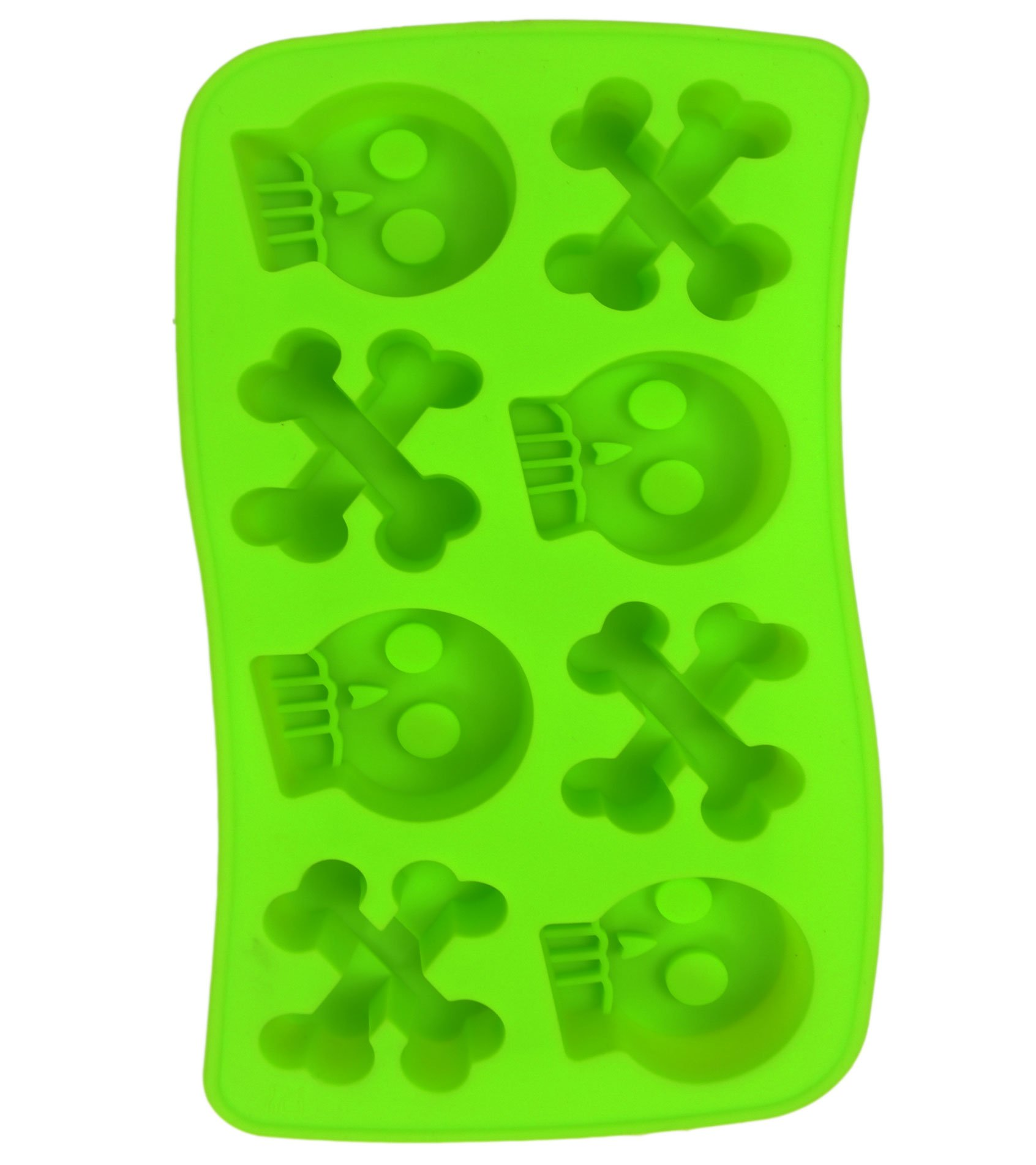 DIY Silicone Chocolate Lollipop Making Mold Ice Candy Sweet Maker,Green01