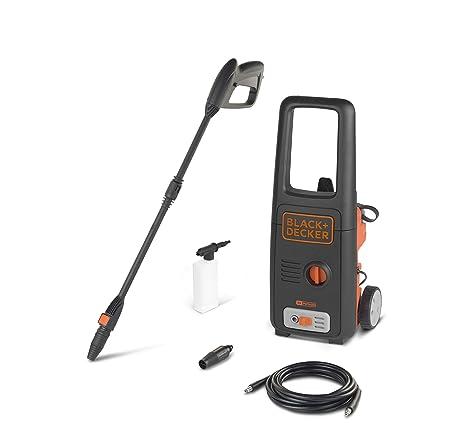 Black+Decker BXPW1400E Hidrolimpiadora de Alta Presión (1400 W, 110 bar, 390