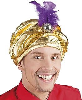 Generique - Copricapo da sultano con Piuma per adultoCopricapo da ... e70753e218da
