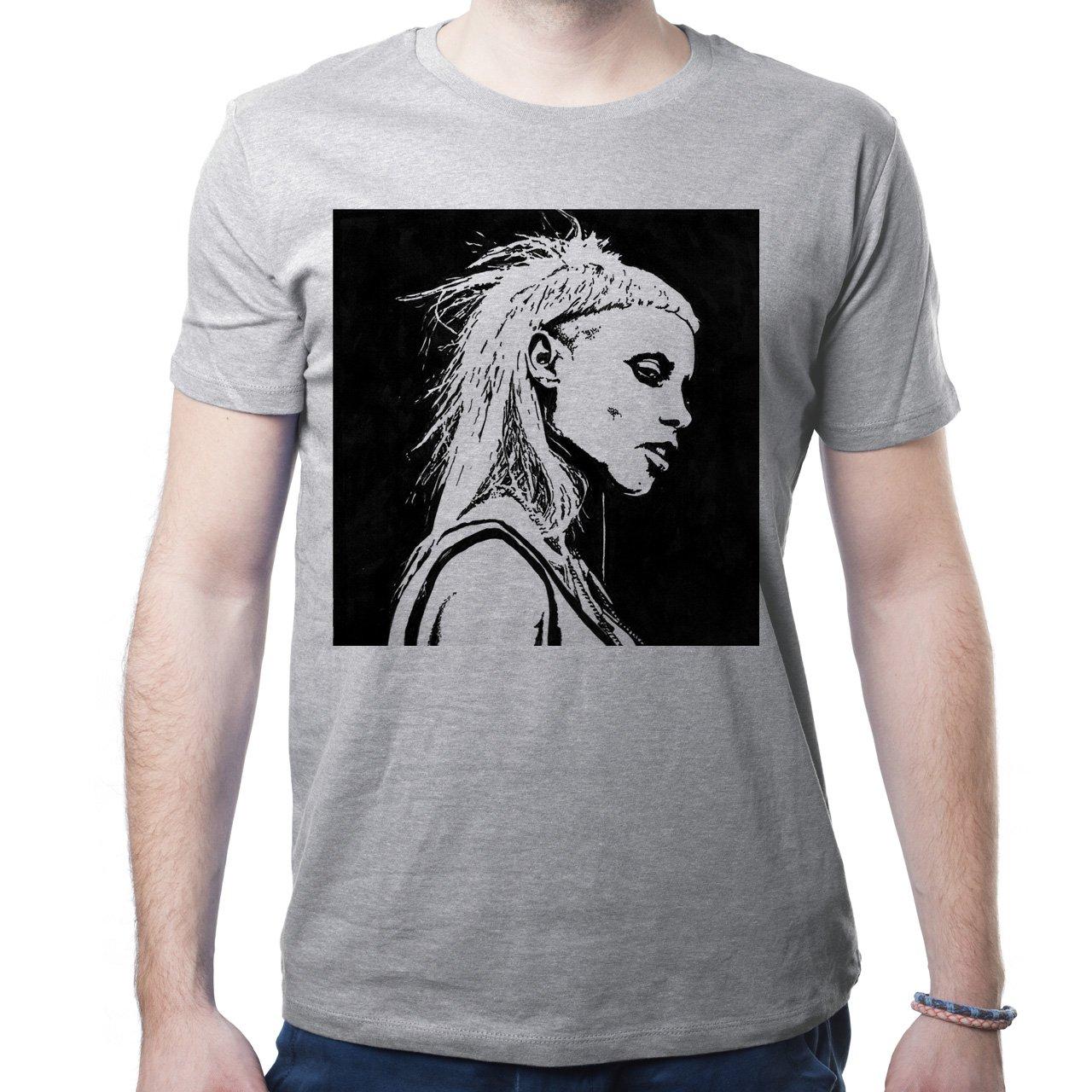 Die Antwoord Ninja Yolandi Visser Black White Illustration ...
