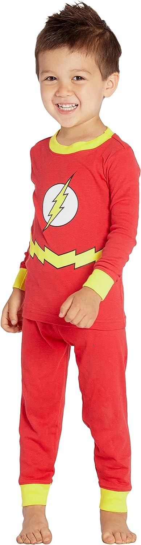 dc comics Conjunto de pijama flash para niños pequeños