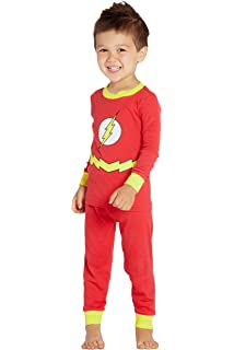 DC Comics The Flash Little /& Big Boys Sleeper Pajama