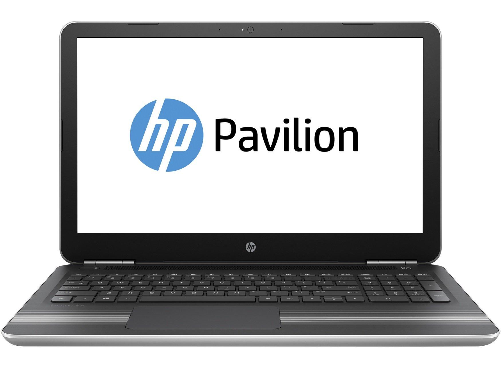 HP Pavilion 15-au010wm 15.6 Inch Laptop (Intel Core i7-6500U 2.5GHz, 12 GB DDR4-2133 SDRAM, 1 TB 5400 rpm SATA Hard Drive, Windows 10), Silver
