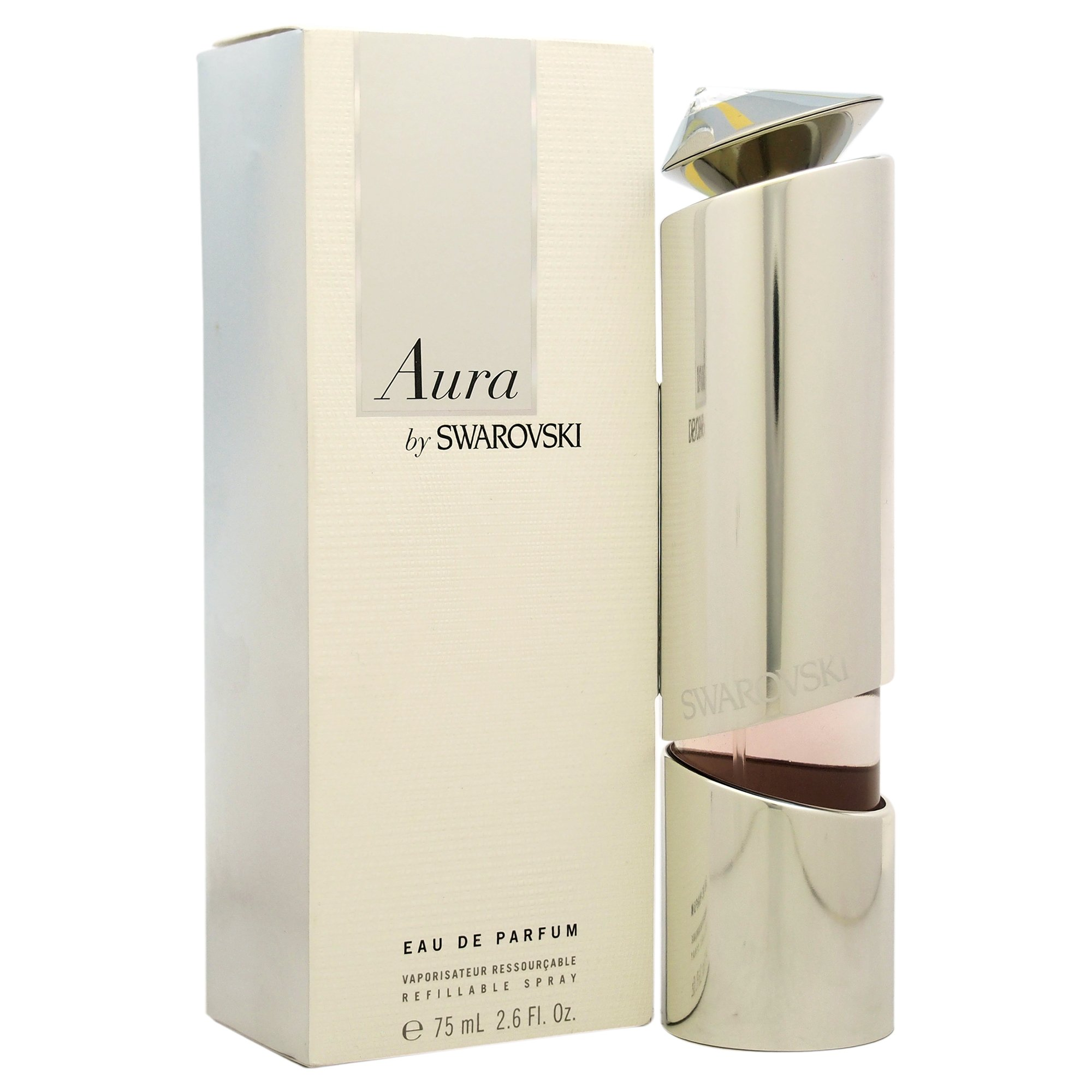 Swarovski Aura Eau De Parfum Refillable Spray, 2.6 Ounce