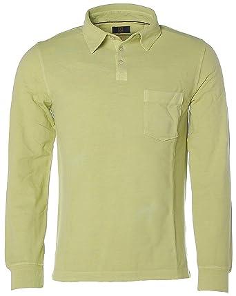 on sale dd2f9 d58c4 JETTE Men Herren Poloshirt Polo Langarm-Shirt Pikee mit ...