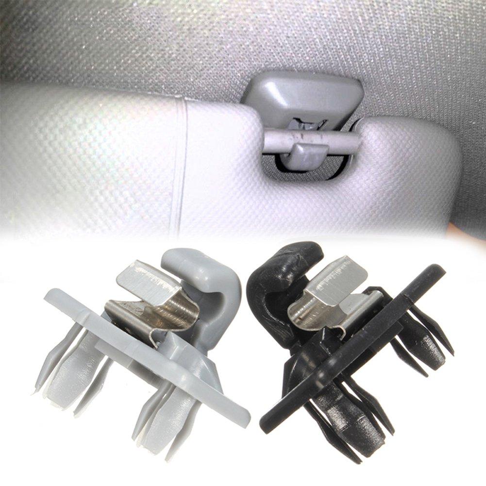 A3 Color Negro A1 A4 1 Gancho para Visera de Interior de Audi A5 WMFL Q5 Q3