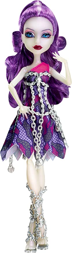Amazon Com Monster High Getting Ghostly Spectra Vondergeist Doll Toys Games