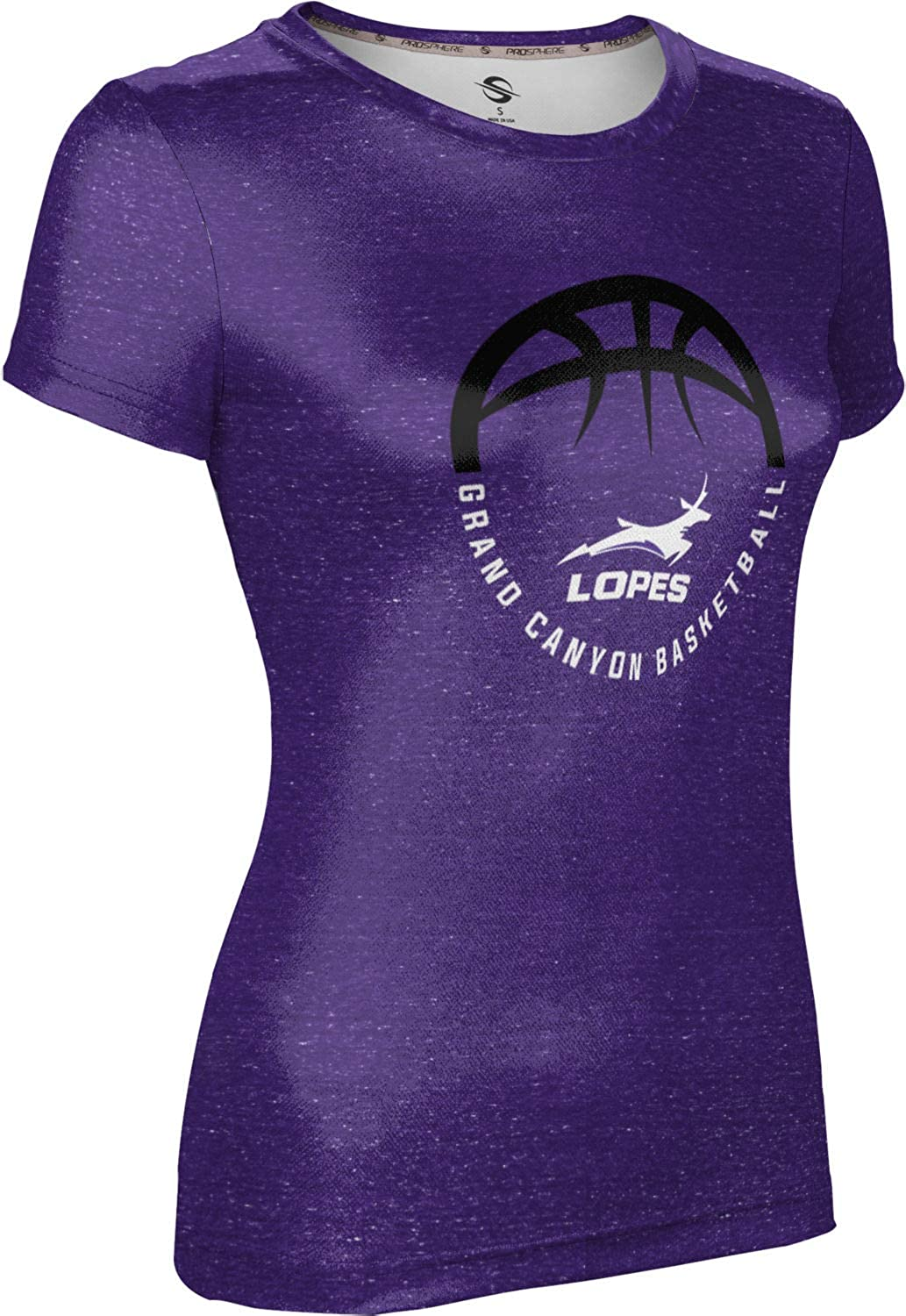 Heather ProSphere Grand Canyon University Basketball Girls Performance T-Shirt