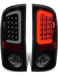 DNA Motoring TL-DRAM07-LED-3D-BK-SM Tail Light Assembly (Passenger & Driver Side)