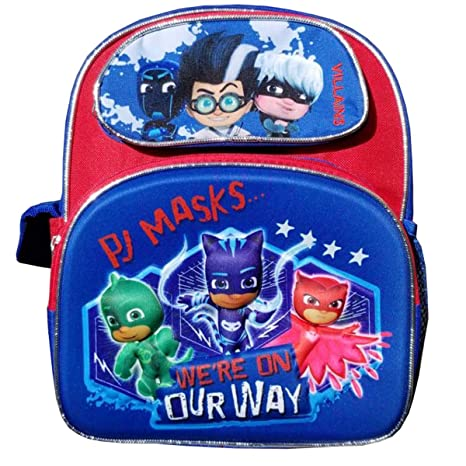 "PJ Masks Blue 3D Pop Out Small 12"" Backpack"