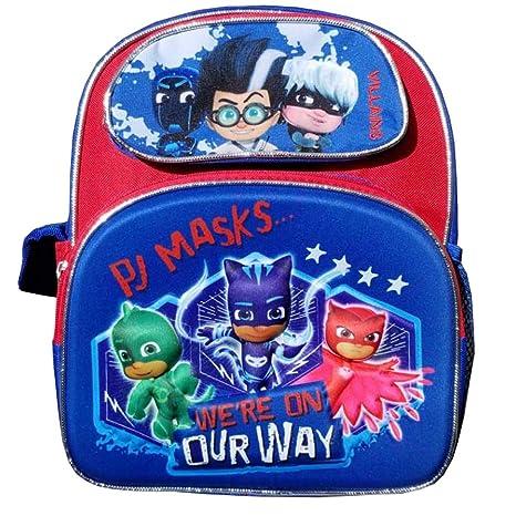 "PJ Masks Blue 3D Pop Out Small 12"" Backpack"