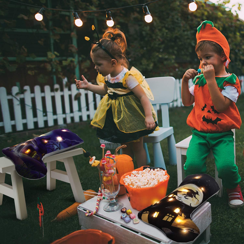 Amazon.com: Balai Halloween bolsas de truco o golosinas ...