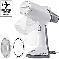 Beautural Plancha de Vapor Vertical, Plancha 1000W,Universal Voltaje 100-240V, Plancha Viaje Portátil, Calentamiento…