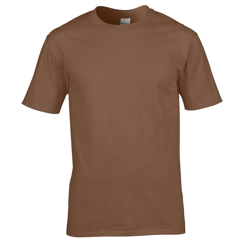 8d7bfe6b2da66e Gildan Mens Premium Cotton Ring Spun T Shirt: Amazon.co.uk: Clothing
