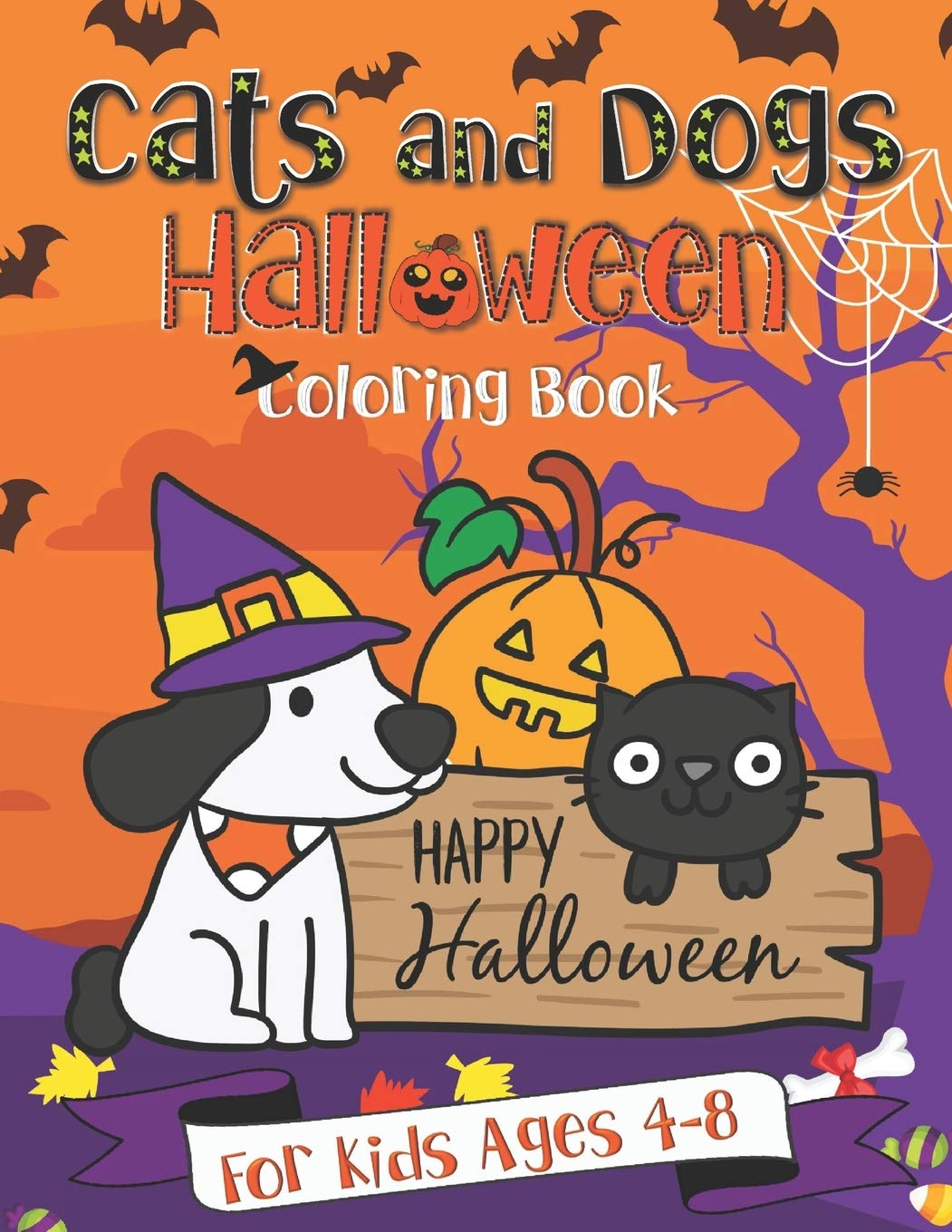 Halloween Dog Coloring Pages - Part 1 | 1360x1051