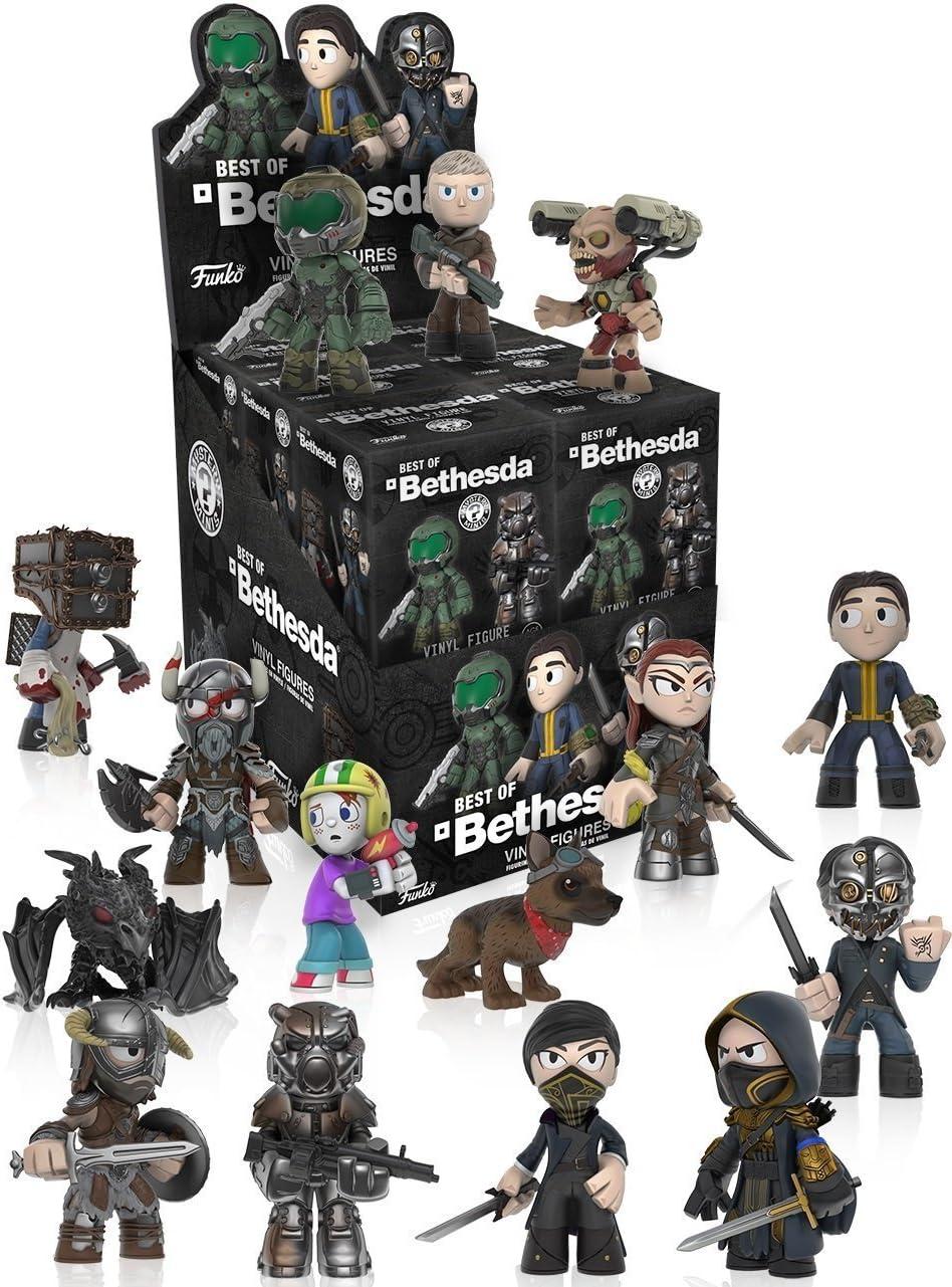 Funko Mystery Minis: El mejor de Bethesda Blind Box 4-Pack: Amazon.es: Juguetes y juegos