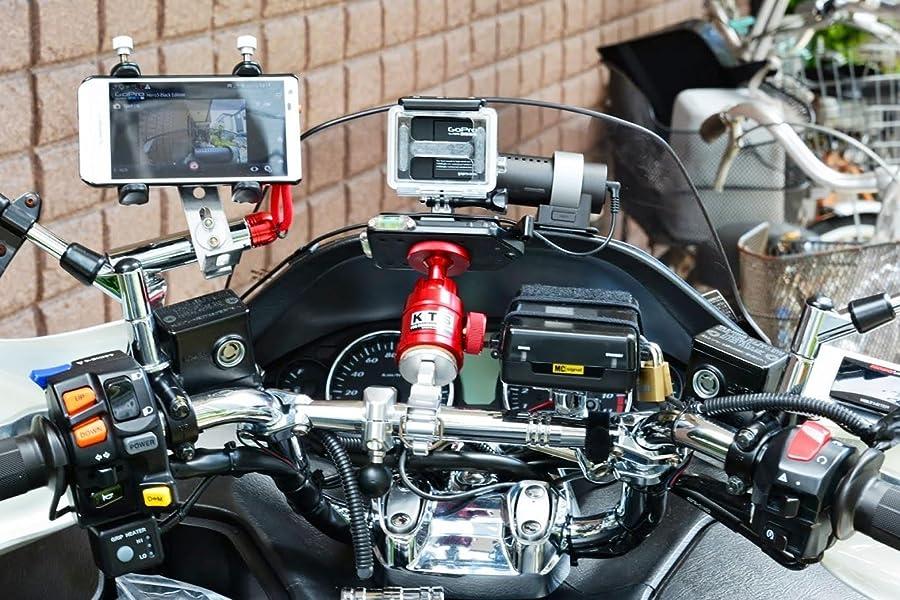 ノーブランド品-DSLR-カメラ対応-ネジ-三脚ボール-ヘッドブラケット-ホルダー