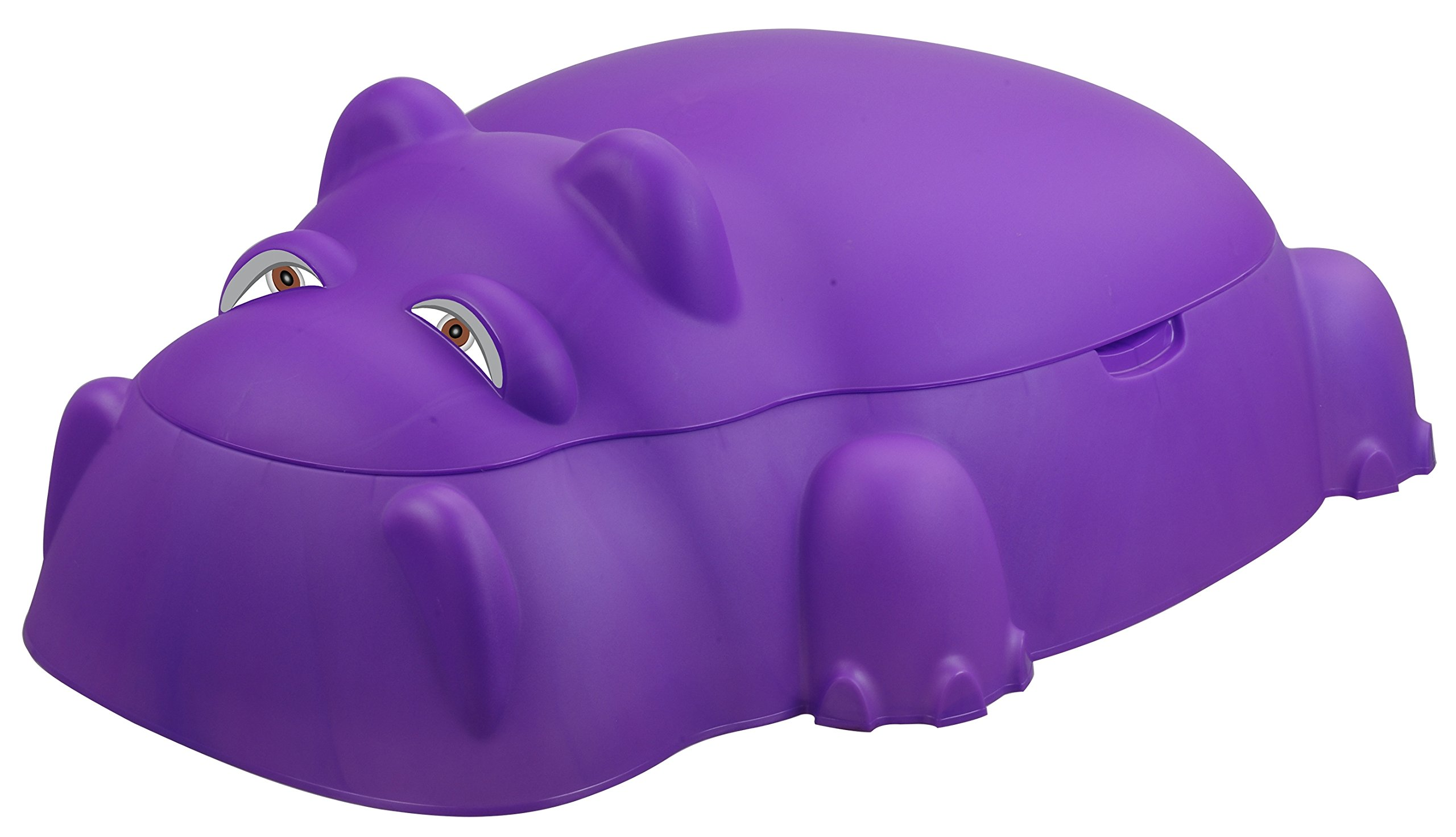 Starplay Hippo Pool/Sandpit with Cover, Purple