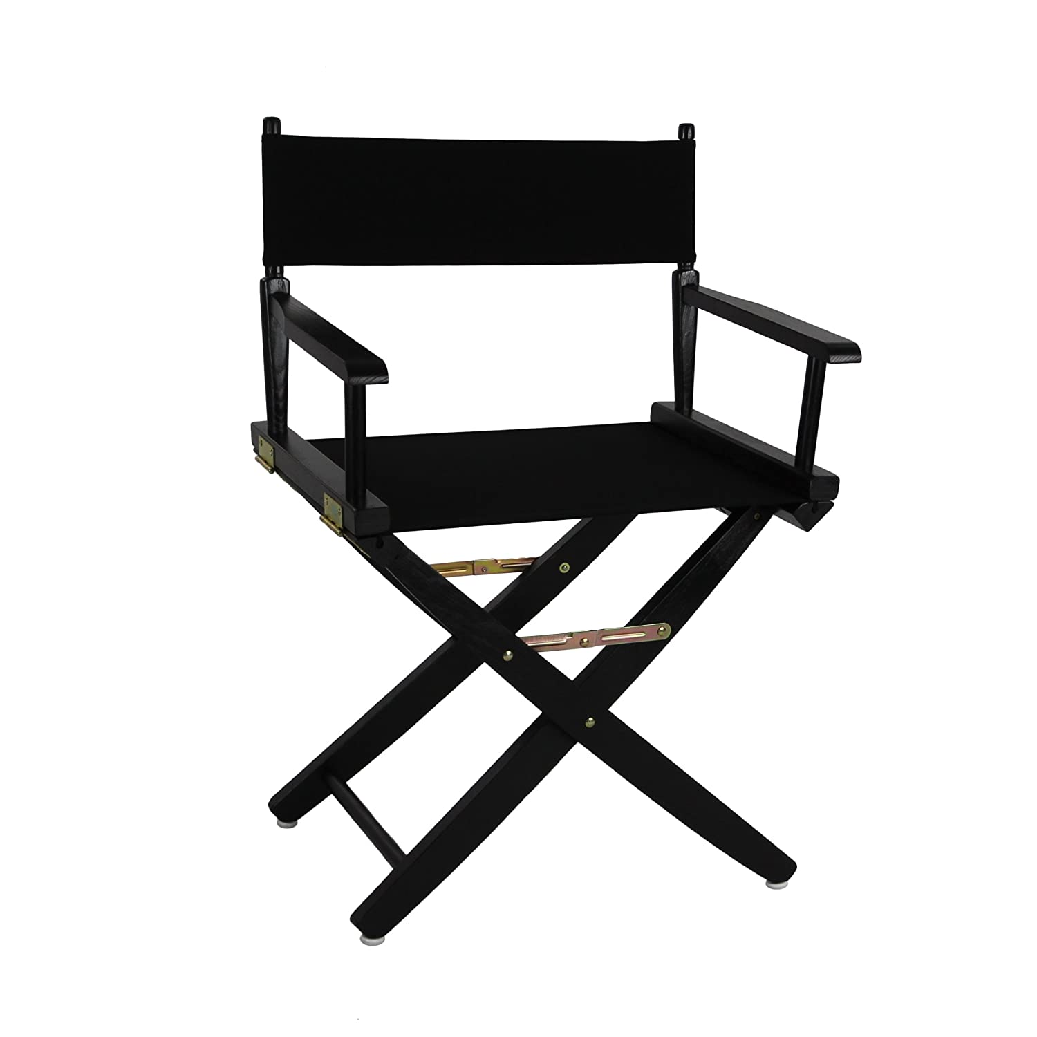 Directors chair covers - Amazon Com American Trails Extra Wide Premium 18 Directors Chair Black Frame W Black Color Cover Kitchen Dining