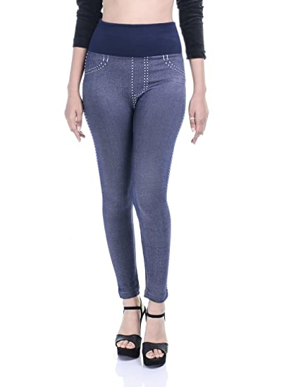 c16d621893d Timbre Denim Look Jeggings for Women