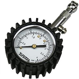 TireTek Premium Tyre Pressure Gauge - Large Dial